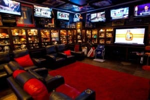 Texans Fan Man Cave