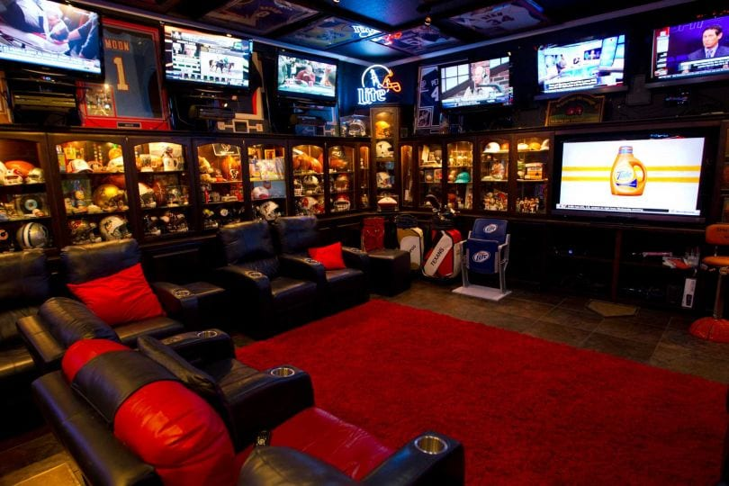 Seriously Cool Man Caves